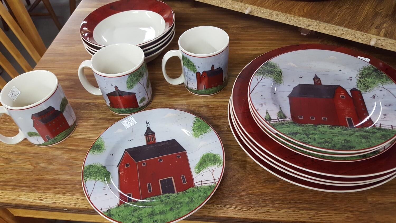 Barn-Themed Dishes (B)