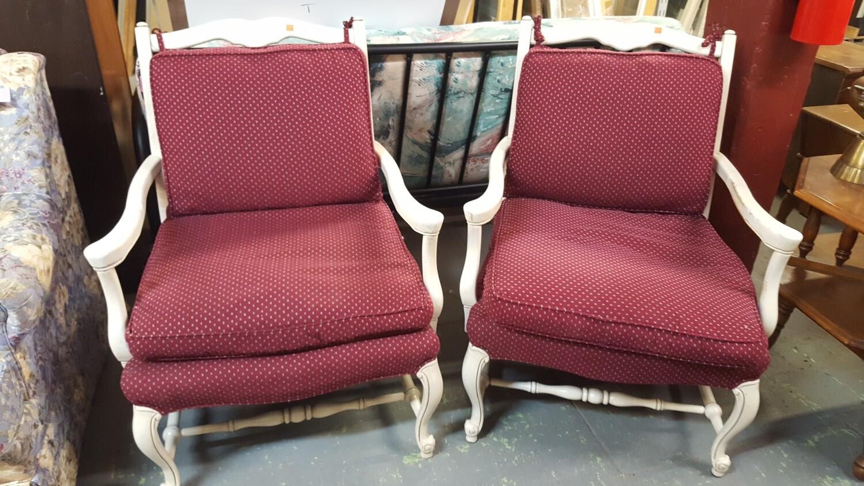 Arm Chair, down cushion (B)