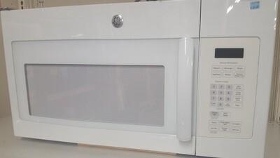 GE microwave, white (B)