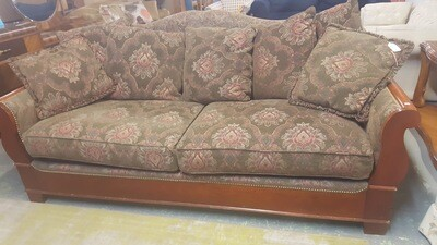 Sofa, nail head trim (B)