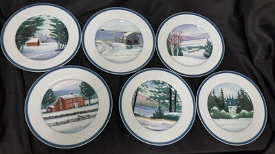 Williams-Sonoma Plates (B)