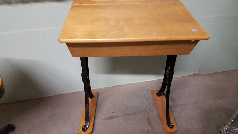 Reproduction School Desk (B)