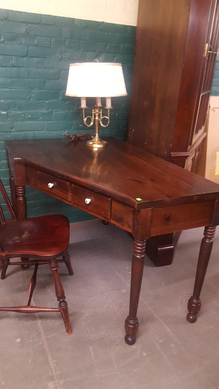 Ethan Allen Corner Desk (g)