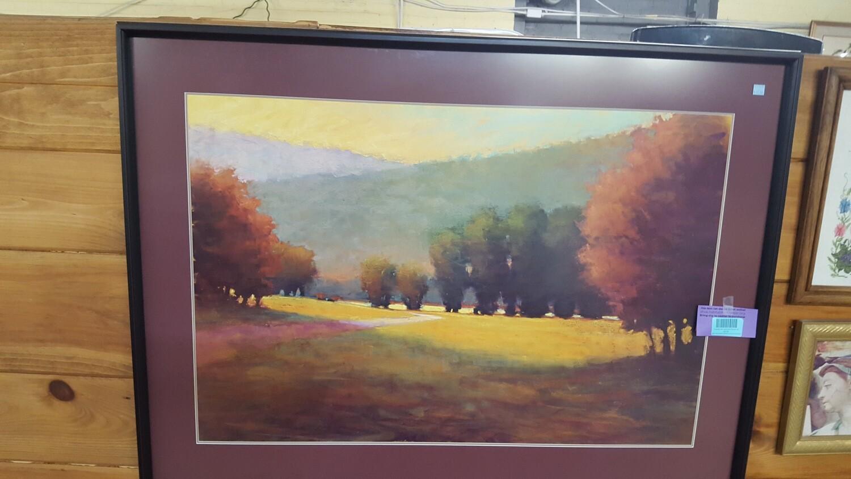 Framed Art: Autumn Scene (b)