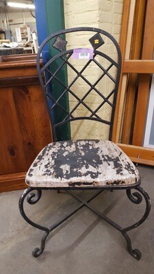 Wrought Iron Chair (CL)