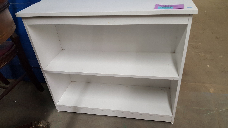 Small White Bookcase (b)