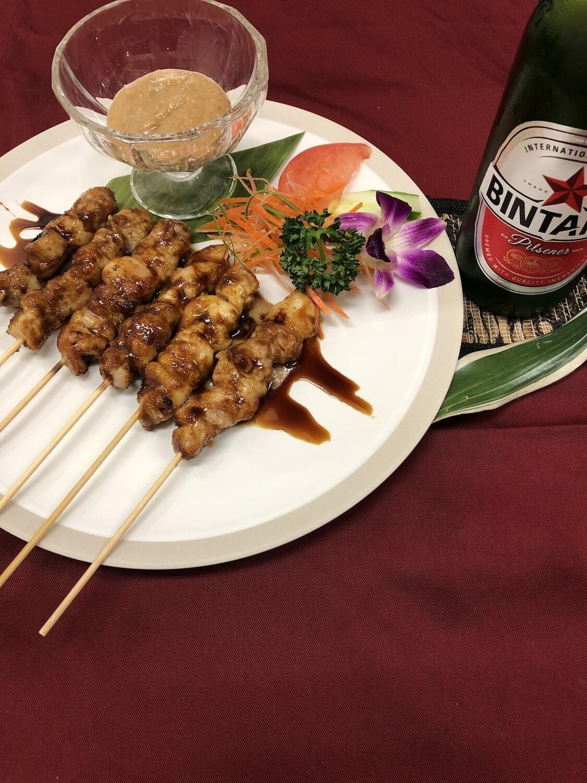 Sate (skewer) サテ(串焼き)