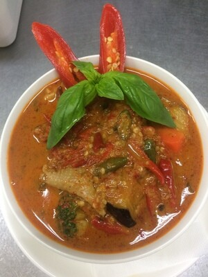 Spicy Red Curry スパイシーレッドカレー