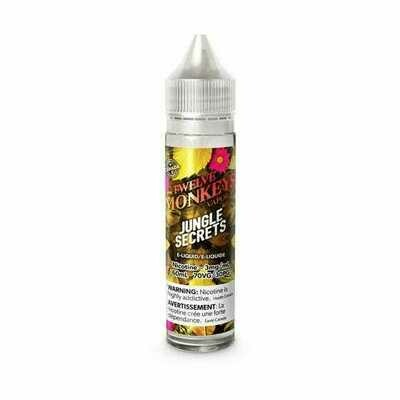 Twelve Monkeys: COL - Jungle Secrets (60mL)