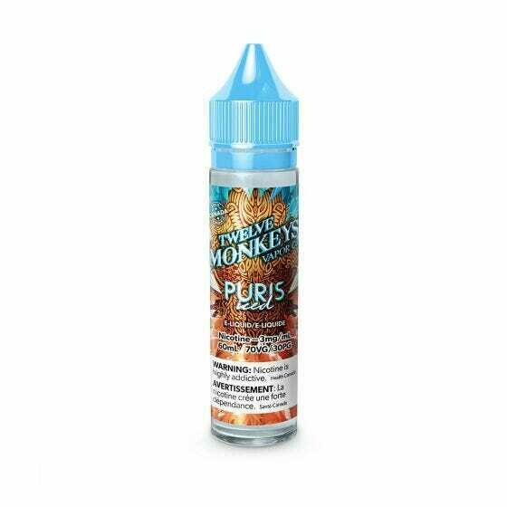 Twelve Monkeys: Ice Age Puris Iced (60mL)