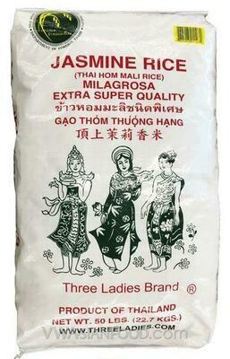 3 LADIES JASMINE RICE 三美女茉莉香米50#