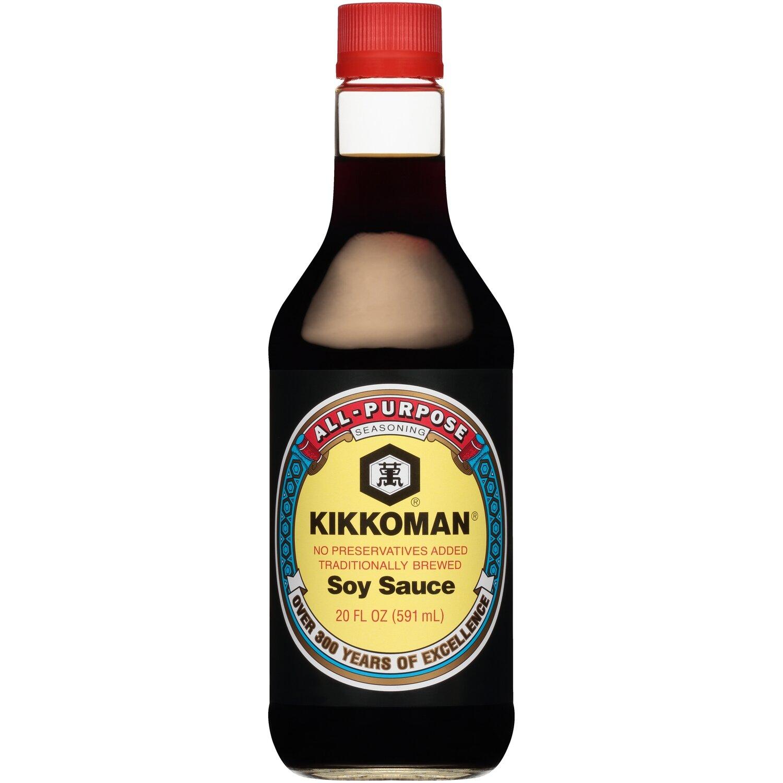 KIKKOMAN Soy Sauce (2 kinds)