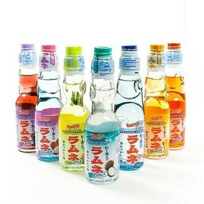 Shirakiku Ramune Drink ( 4 flavors )