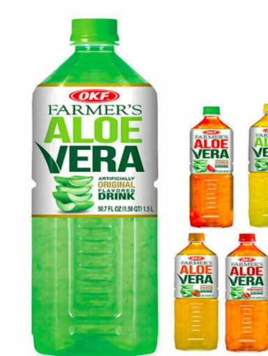 OKF Aloe Vera Drink (4 kinds)