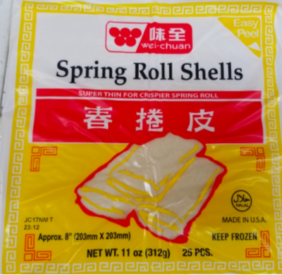 WC Spring Roll Wrapper 味全春捲皮