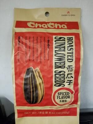 CHACHA SUNFLOWER SEED SPICED FLV 香瓜子五香味