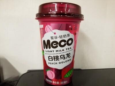 MECO LIGHT MILK TEA PEACH OOLONG 蜜谷輕奶茶白桃烏龍