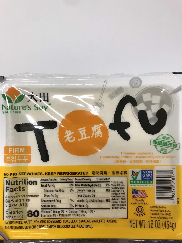 Tofu (Nature's Soy) 老豆腐