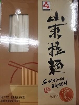 RAMEN NOODLE SHANDONG STYLR WIDE 山東拉麵( 寬 )