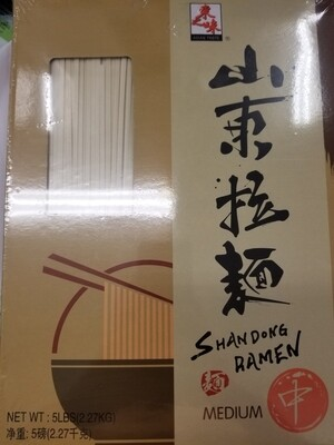 RAMEN NOODLE SHANDONG STYLE MEDIUM 山東拉麵(中)