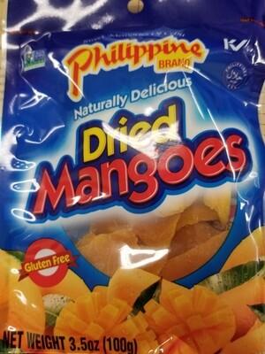 DRIED MANGOES PHILILPPINE BRAND