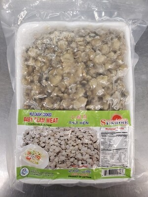 Baby Clam Meat