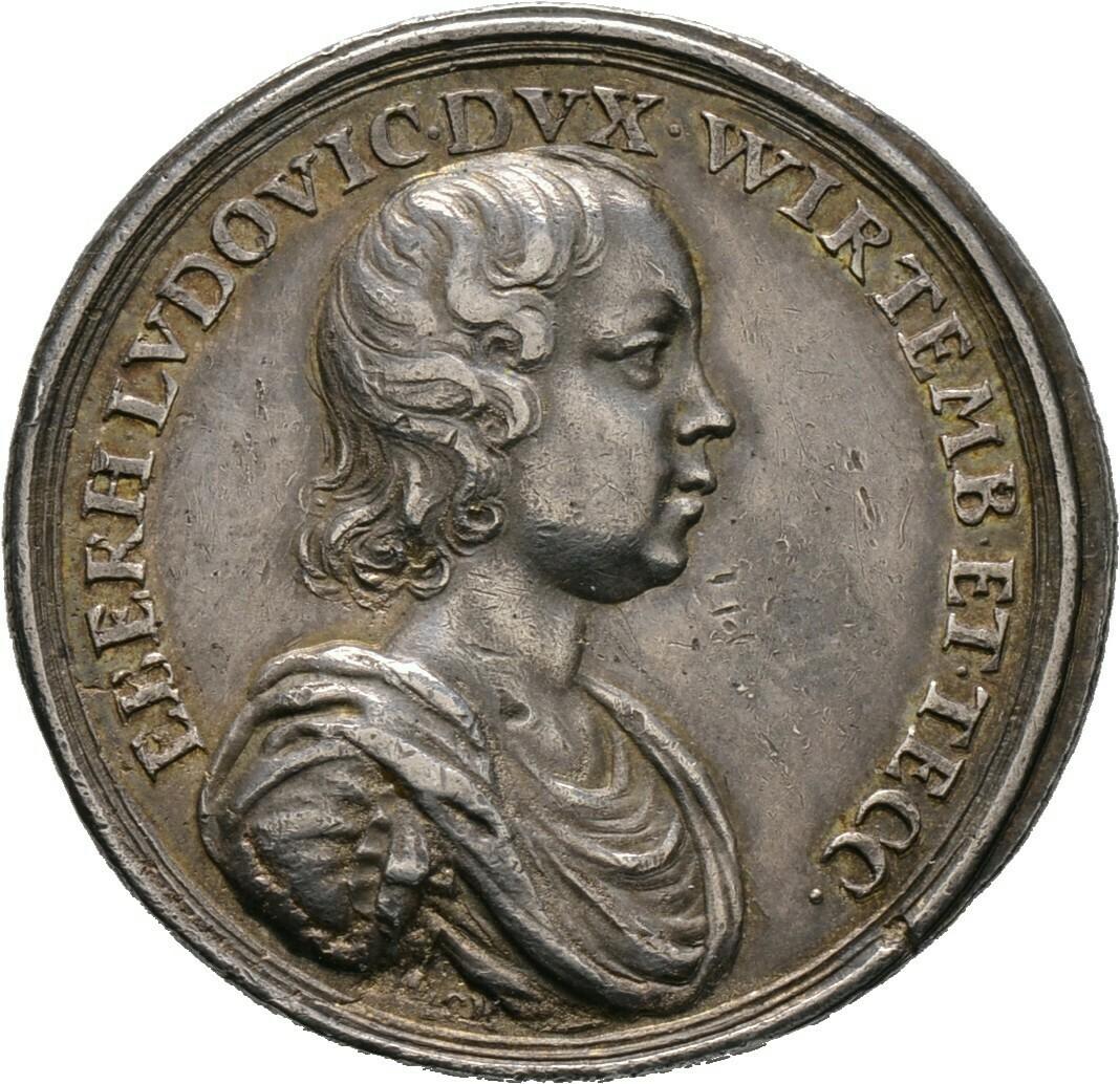 Silbermedaille o.J., Württemberg