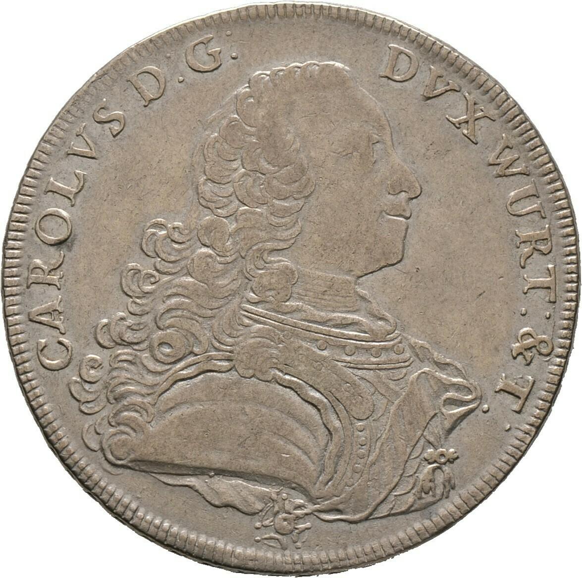 Konventionstaler 1769, Württemberg