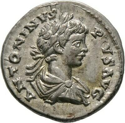 Denar 201, Caracalla, Kaiserzeit