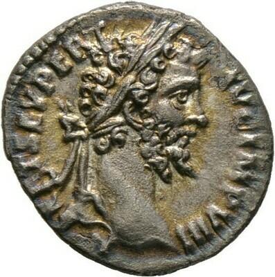 Denar 196/197, Septimius Severus, Kaiserzeit