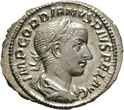 Denar, Gordianus III, Kaiserzeit