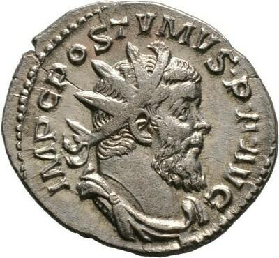 Antoninian 263, Postumus, Kaiserzeit