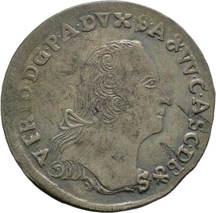 1/6 Taler 1758, Victor Friedrich, Anhalt-Bernburg