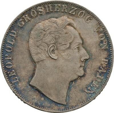 Doppelgulden 1846, Leopold, Baden-Durlach