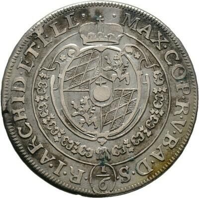 1/6 Taler o.J. (um 1623), Maximilian I., Bayern