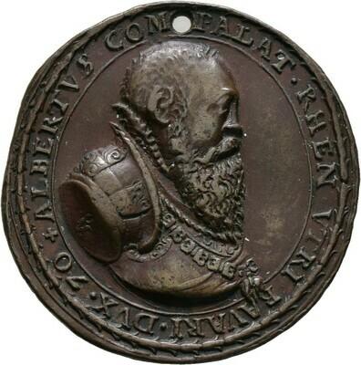Bronzemedaille 1570, Albrecht V., Bayern