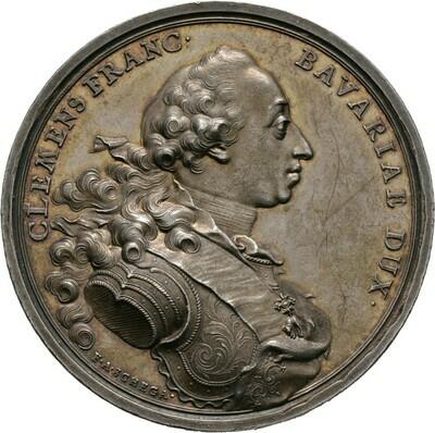 Silbermedaille 1764, Maximilian III., Bayern