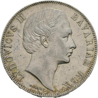 Madonnentaler o.J., Ludwig II., Bayern