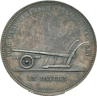 Silberne Prämienmedaille o.J., Ludwig II., Bayern