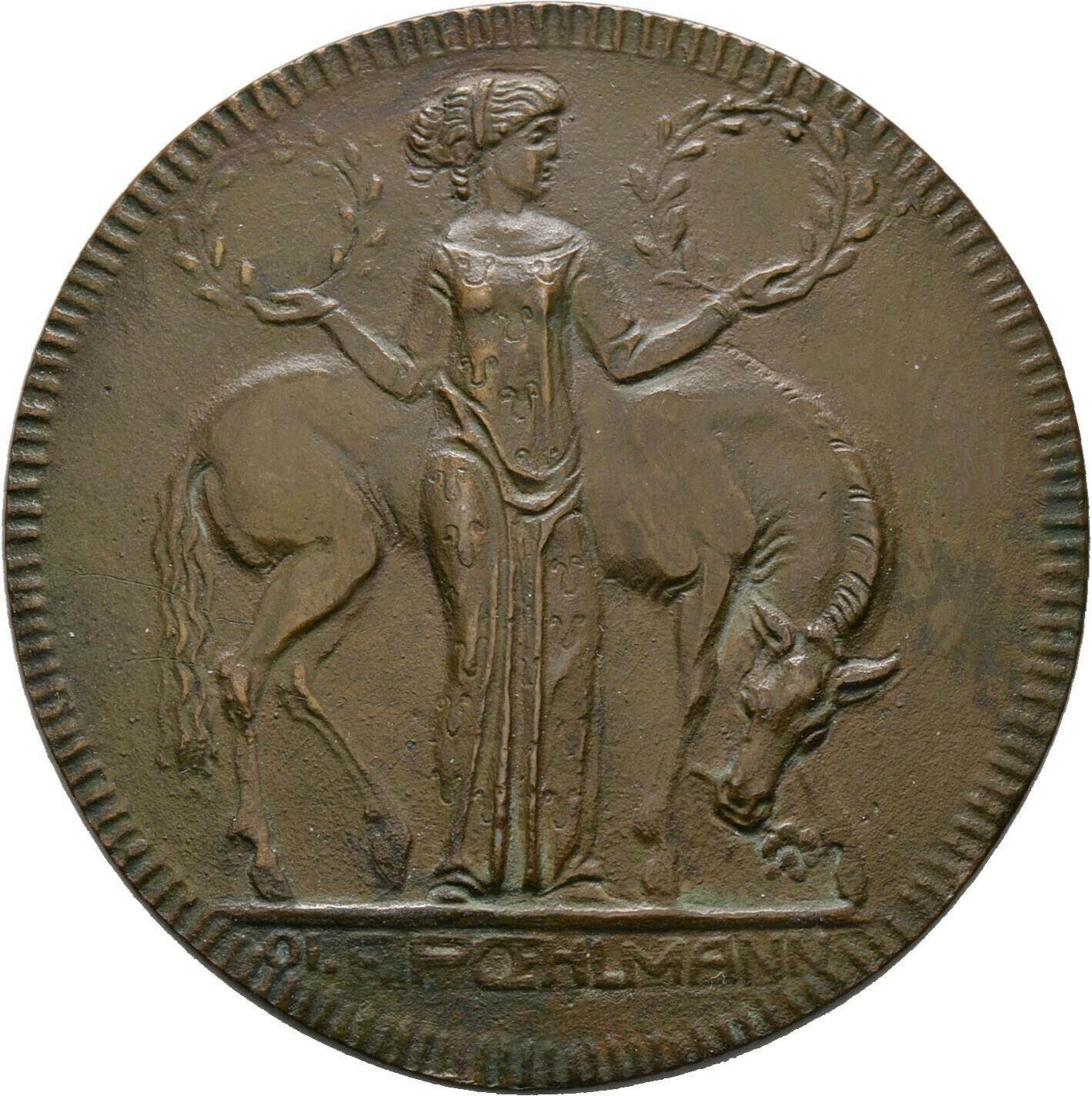 Bronzene Prämienmedaille 1890, München