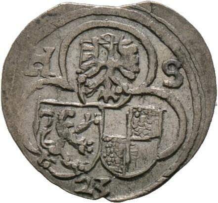 Einseitiger Pfennig 1623, Bayreuth