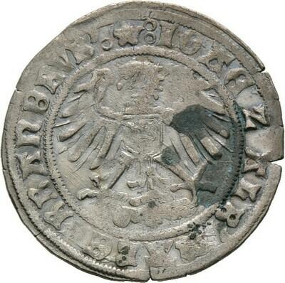 Groschen 1513, Joachim I. und Albrecht, Brandenburg-Preußen