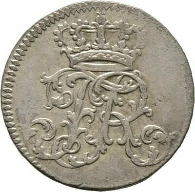 1/24 Taler 1753, Friedrich II., Brandenburg-Preußen