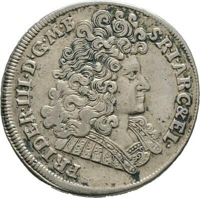 Gulden zu 2/3 Taler 1690, Friedrich III., Brandenburg-Preußen