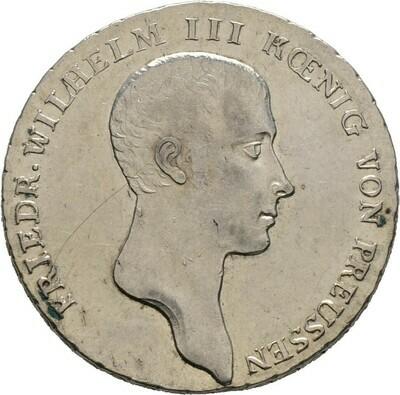 Reichstaler 1814 A, Friedrich Wilhelm III., Brandenburg-Preußen