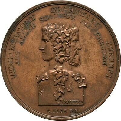 Kupfermedaille o.J. (um 1800), Friedrich Wilhelm III., Brandenburg-Preußen