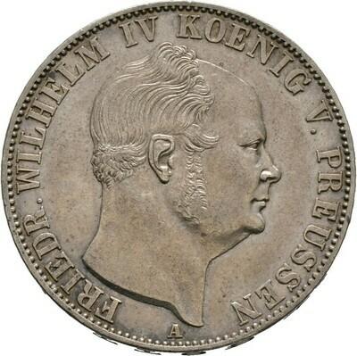 Ausbeutetaler 1855 A, Friedrich Wilhelm IV., Brandenburg-Preußen