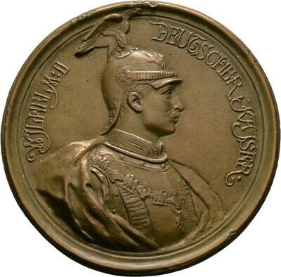 Bronzemedaille 1892, Wilhelm II., Brandenburg-Preußen