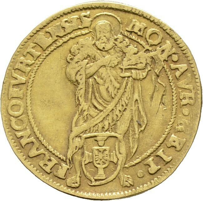 Goldgulden 1618, Frankfurt
