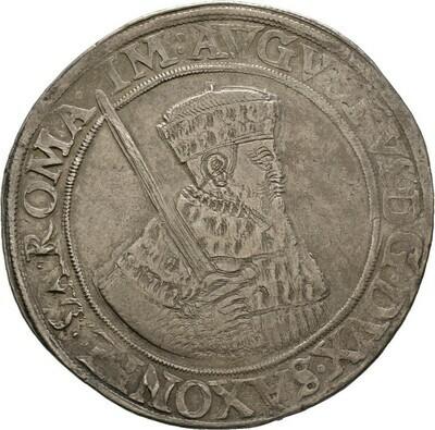 Taler 1557, August, Sachsen-Albertinische Linie